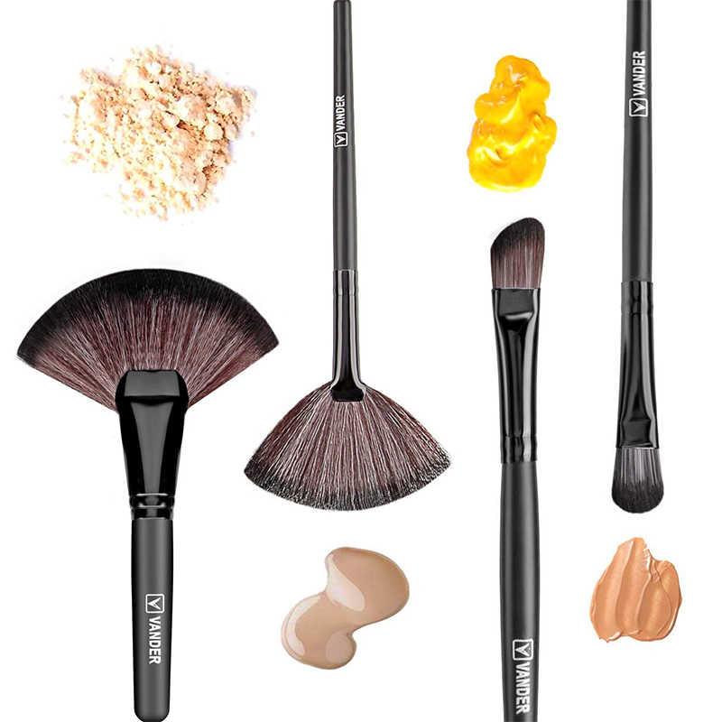VANDER VIDA 32 Pcs Pincel de Maquiagem Profissional Define Escovas de Cosméticos Set Kit + Bolsa Case Bag Mulher Make Up Tools pincel Maquiagem