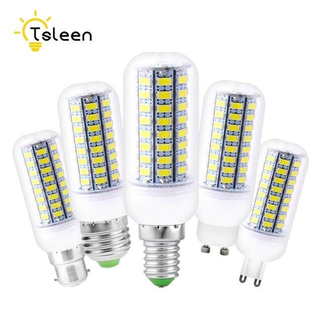 Goedkope LED Lampen 5730 220 v E14 E27 B22 GU10 G9 56 72 leds Lights ...