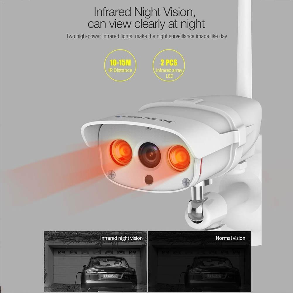 Vstarcam C16S HD 1080 P Wifi Câmera IP Sem Fio À Prova D' Água Ao Ar Livre IP67 P2P Onvif 2mp Câmera Sem Fio IR-Cut de Segurança em casa IP Su