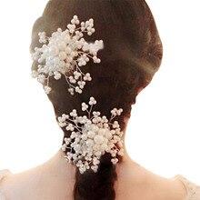 Bridal Rhinestone Jewelry Diamante Hair Comb Clip Slide Prom Party Wedding Jewelry Hair Accessories CX17