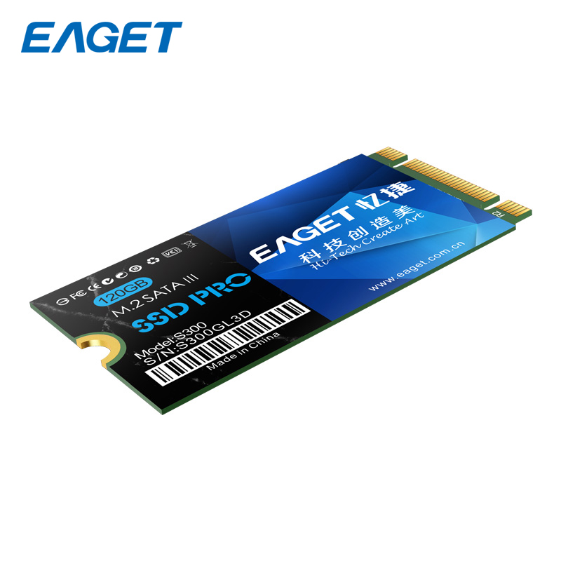 Eaget M.2 NGFF SSD 3.0 120GB SATA III Internal Solid State Drive Disk 22*42mm SSD HD HDD For Ultrabook Laptop Notebook S300 корпус для hdd orico 9528u3 2 3 5 ii iii hdd hd 20 usb3 0 5