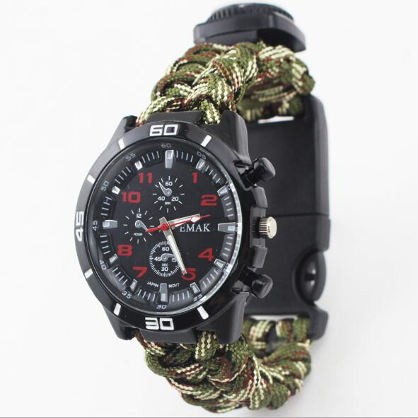 Bracelet Outdoor Wristband Paracord Survival Bracelet