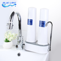 طبقتين من الترشيح abs قذيفة ، صنبور تنقية المياه ، الترسبات ، سهلة التركيب ، المياه الصالحة للشرب ، reusable مرشح