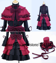 Cosplay anime Costumes Anna