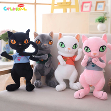 1PCS 30/40cm Kawaii simulation cat plush toy creative plush stuffed animal kids toys birthday gift about 45cm simulation dogs and tigers plush toy stuffed animal dolls kids children birthday gift toys
