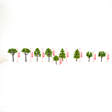 20PCS Miniature Trees 3cm-4cm Scenery Landscape Train Model Scale HO scale model train kits