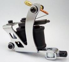 10 Wrap Coils Irons Custom Chrome Tattoo Machine For Shader & Liner Tattoo Beginner Machine Tattoo Gun
