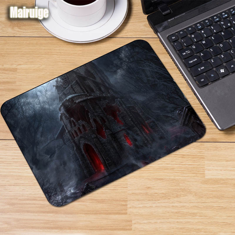 Mairuige Hot Games Dungeon Game Gaming Mouse Pad Reol of The Game Diy Size 29x25x2mm As A Gift To Friends Table Mat Pad Pc Mats