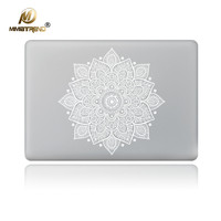 White Leaves Removable Vinyl Decal Laptop Skin Sticker For Apple Macbook Air Pro Retina 11 13