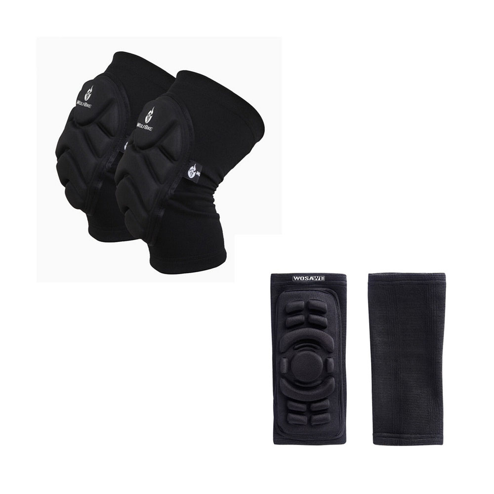 Elbow Knee Protection Adult Mountain Bike Motor Motocross Downhill Motorcycle Racing Skiing Sponge Pads Sports Elbow Knee Pads spakct cycling bike children elbow pads knee pads silicone gel elbow protect cover sport safety pulley bicycle knee pads support