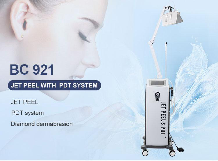 4 In 1 Oxygen Facial Therapy Blackhead Removal Function Jet Peel Sale For Acne Removal PDT