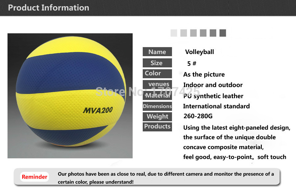 2019  New Brand  size 5 PU volleyball official match MVA330,200,300, volleyballs indoor training  volleyball  balls