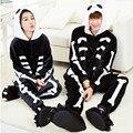 Halloween Kigurums New Unisex Adult Animal Skeleton Skull Onesie Pajamas Cosplay Costume onesies Sleepwear Cartoon animal