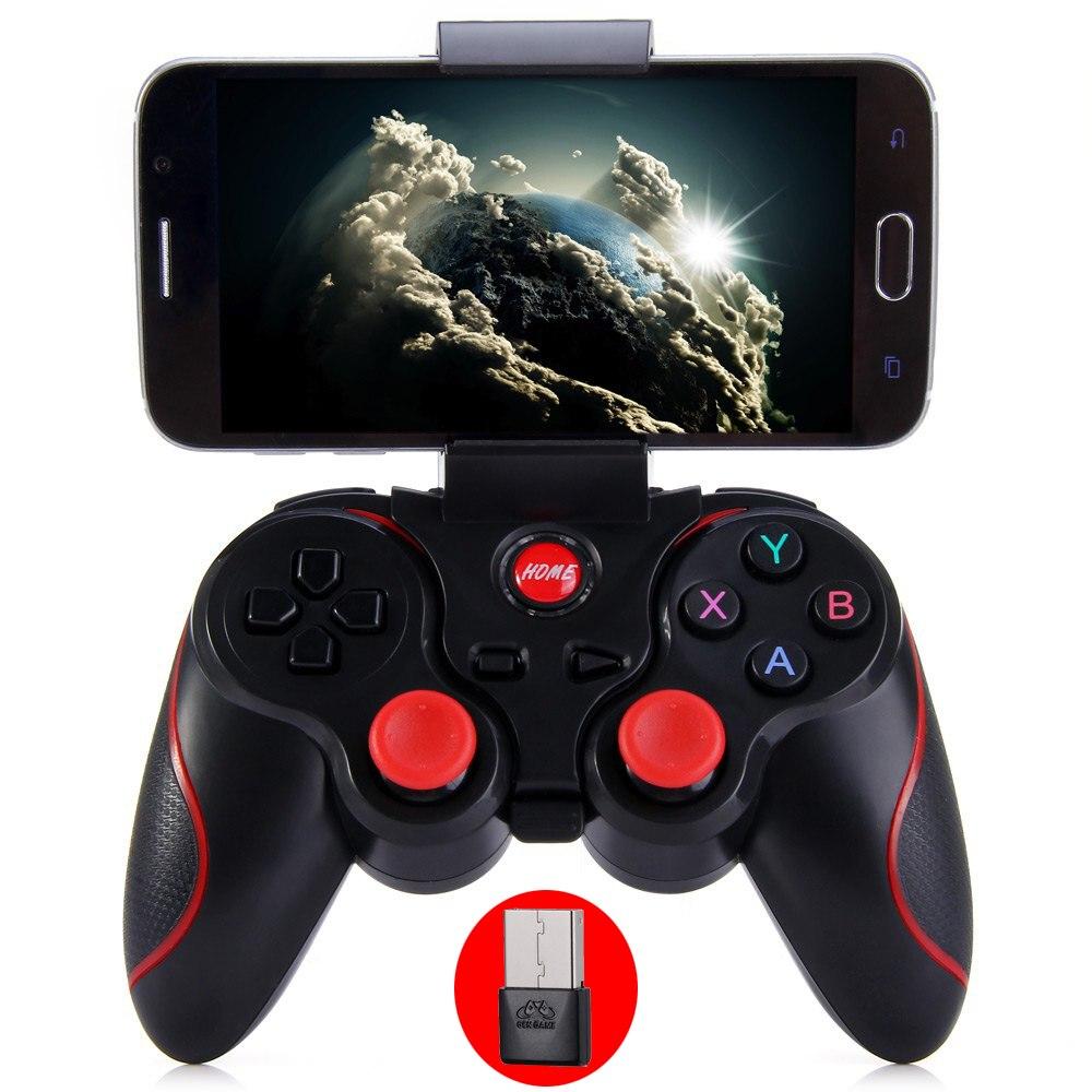 Original Gen Spiel T3 Wireless Bluetooth Gamepad Fernbedienung Joystick PC Game-Controller für Smartphone/Tablet PK S3 Pad