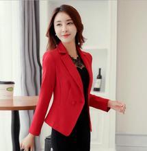 THYY 2018 Formal Full Spring Autumn Coat Blazer Women Suit Ladies Refresh Blazers Comfortable Women's Blazers Free Shipping A809