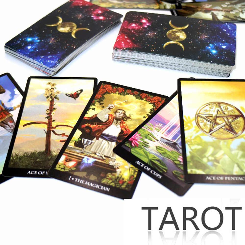 2019 czarownice karty tarota deska pokładowa gra fabrycznie wykonane wysokiej jakości przeczytaj los mityczne wróżby gry karciane