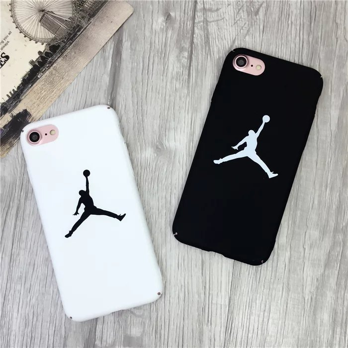 Fashion Jordan Matte Case For iPhone 6 6s 8 7 7 Plus XS MAX XR case Cover Sport Coque Back Hard PC For iphone X 5 5s SE Cases