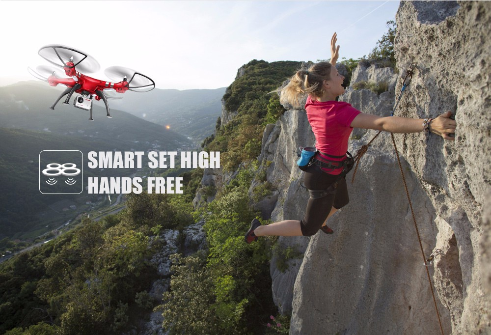 SYMA Professional UAV X8HG X8HW X8HC 2.4G 4CH RC Helicopter Drones 1080P 8MP HD Camera Quadcopter (SYMA X8C/X8W/ X8G Upgrade) 6