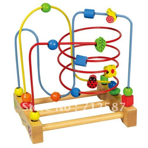 Wooden Insect Model Baby Education Used Toy Fit For Baby Without