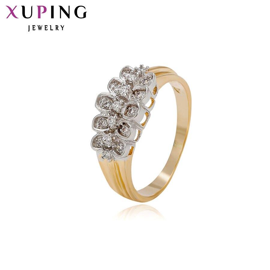 11,11 сделок Xuping Мода кольцо Для женщин свадебные синтетических CZ Американский Стиль Одежда высшего качества бренд ювелирных День Святого Ва...