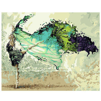Needlework DIY DMC cross stitch painting 14CT unprinted dancer embroidery Counted Cross-Stitch cotton thread,Christmas 1023