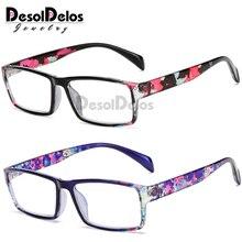 Classic Black Frame Reading Glasses Women&Men Spring Leg Presbyopic Glasses Unisex +1.0 1.5 2.0 2.5 3.0 3.5 4.0