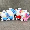 32-40cm High Quality kawai Hello Kitty Plush Toys Hug Fish stuffed Dolls For Girls Kids Toys Gift Mini Animal Plush Doll