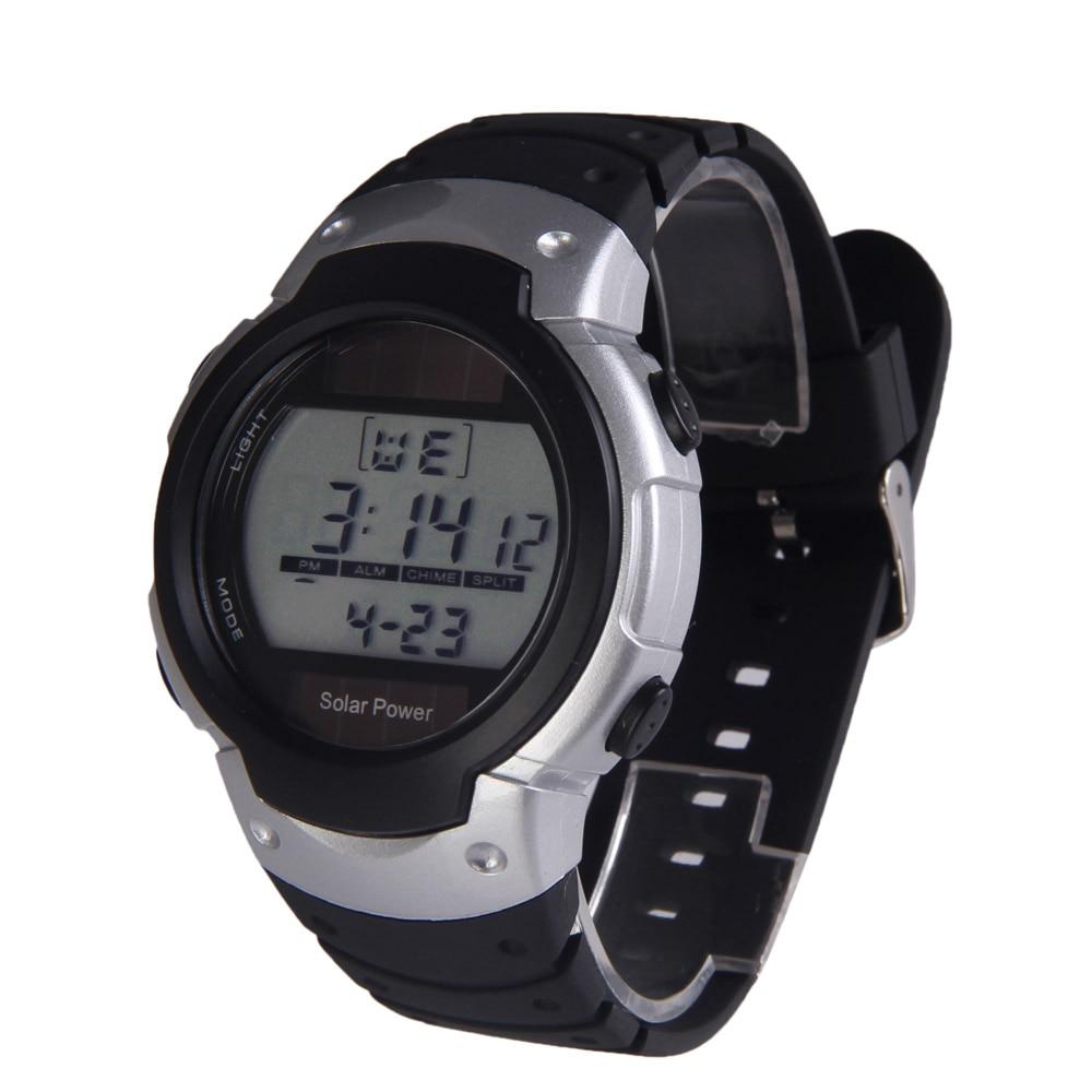 Digital Watches Fashion Solar Watch With Backlight Casual Sport Watches Men Digital Watch Solar Powered Watch Reloj Solar Power Watches