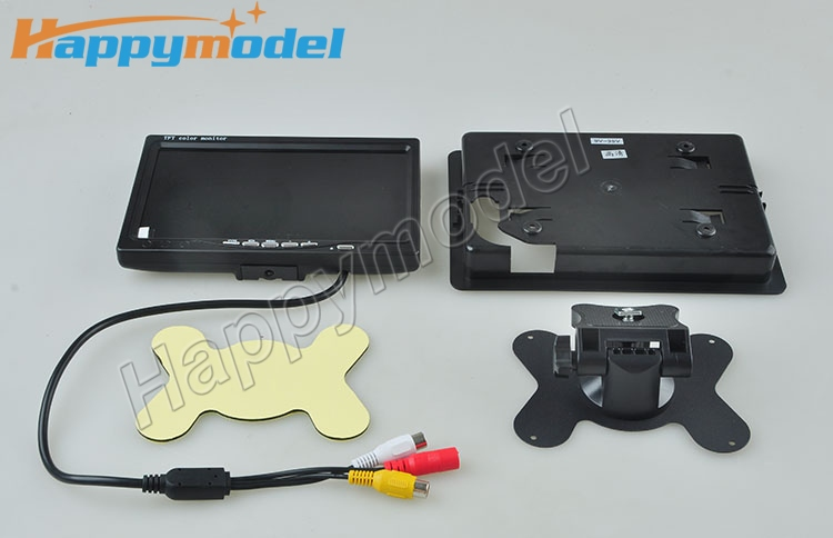 7'' LCD TFT-LCD FPV 800 X 600 Screen No Blue Monitor Photography for FPV / GPS / CAMERA 270 Degree Visual Angle