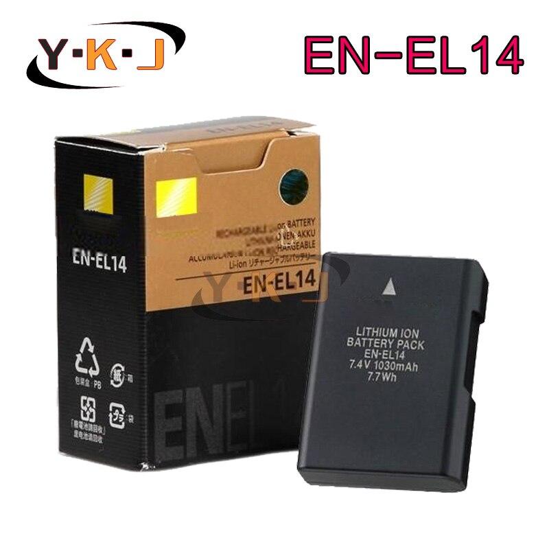 Original EN EL14 ENEL14 EN EL14 Camera Battery For font b Nikon b font MB D31