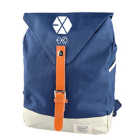 kpop new EXO Han Fan fashion men and women Student Backpack and leisure backpack