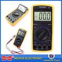 WHDZ multimètre numérique DT-9205A ampèremètre professionnel voltmètre résistance capacité électrique portable hFE testeur AC DC LCD
