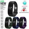 Inteligente banda Pulseira Smartband H30 Bluetooth Monitor de Freqüência Cardíaca Inteligente pulseira de Fitness Rastreador Relógio para Android & IOS PK H3 D21