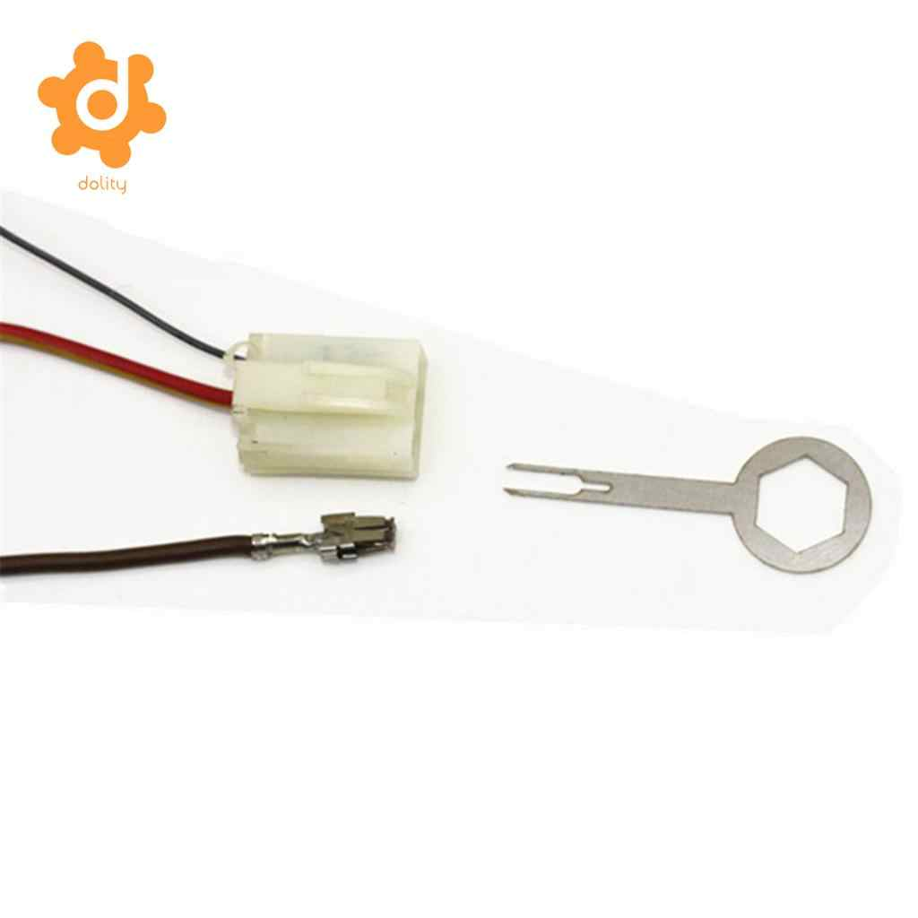 Dolity 11 Buah Mobil Listrik Konektor Terminal Pin Extractor Removal Tool Kit
