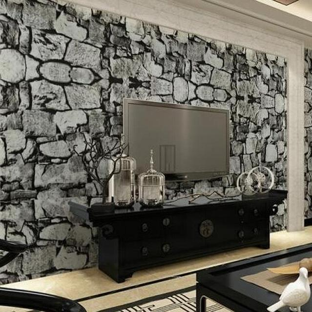m m roll paredes de piedra con textura wallpaper gris ladrillo vintage