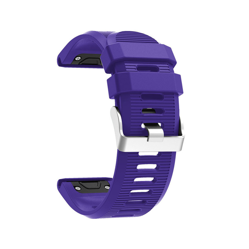 26 22 20mm Watchband for Garmin Fenix 5X 5 5S Plus 3 3 HR Forerunner 935 Watch Quick Release Silicone Easy fit Wrist Band Strap 2