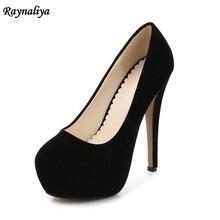 2018 Musim Semi Musim Gugur SLIP ON 14 Cm Sepatu Hak Tinggi Merah Office Lady Thin Heels Fashion Sepatu Kasual untuk Gadis Pompa sepatu MS-B0007