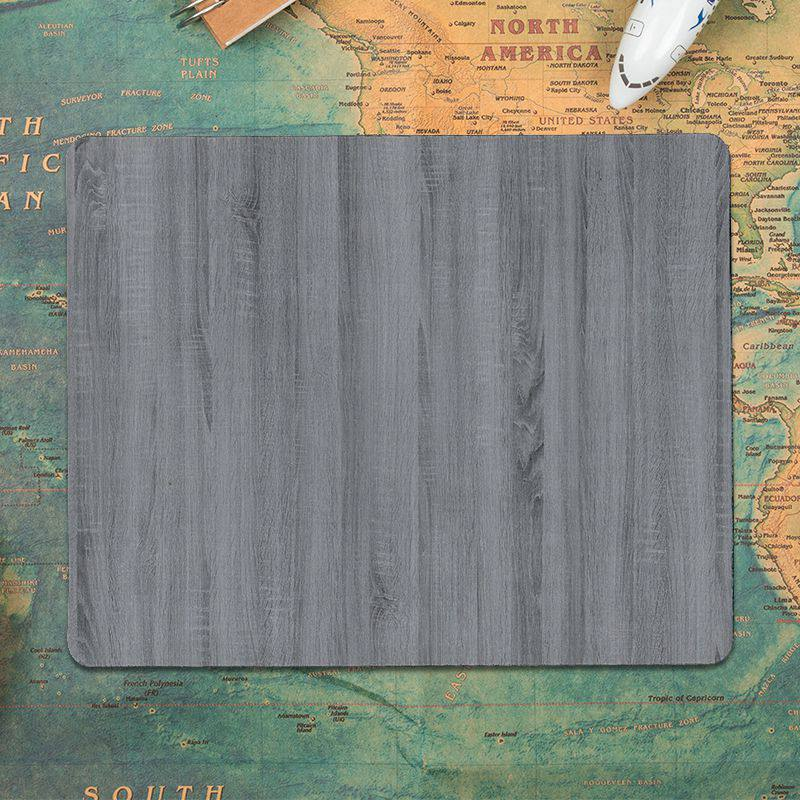 Yinuoda hot sale Wood Texture Laptop Computer Mousepad Size for 30x60cm and 30x60cm Gaming Mousepads