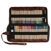 Professional Art Colour Pencil 72 Colored Pencils Art Drawing Coloring Pencil Set Coloring Supplies with Carrying Bag Sharpener