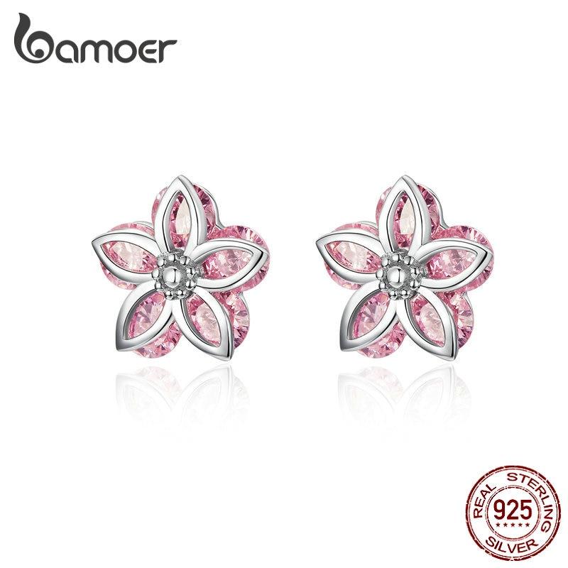 2cf3a5c2f0 top 8 most popular korean fashion women earrings pink flower brands ...