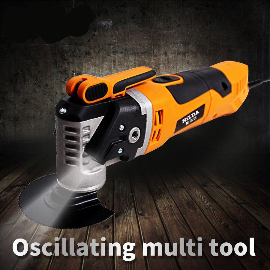 Multi-Fonction Oscillant Trimmer Rénovation Outil Scie Électrique Rénovateur Outil Tondeuse Outils à bois Sac D'emballage