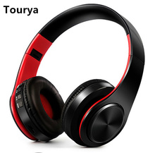 Tourya B7 Беспроводной наушники Bluetooth гарнитура наушники С микрофоном для ПК мобильного телефона музыка