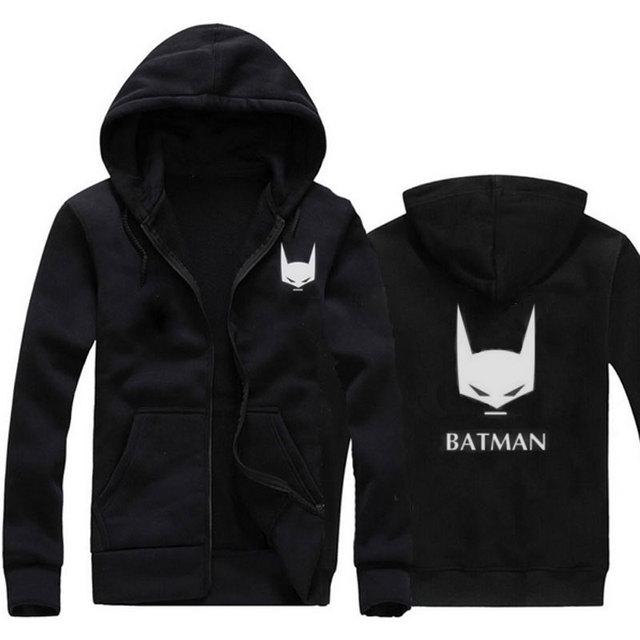 Nueva Moda Sudaderas Con Capucha Sudadera Hombres Batman