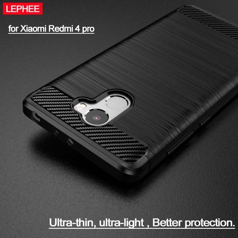 LEPHEE Xiaomi Redmi 4 Pro Case Xiaomi Redmi 4 Pro Prime Case Premium TPU Silicone Soft Matte Back Cover Xiomi Redmi 4 Pro Case