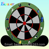 2018 World Cup 32 strong souvenir inflatable football darts target 4m / 5m / 6m club inflatable football darts target