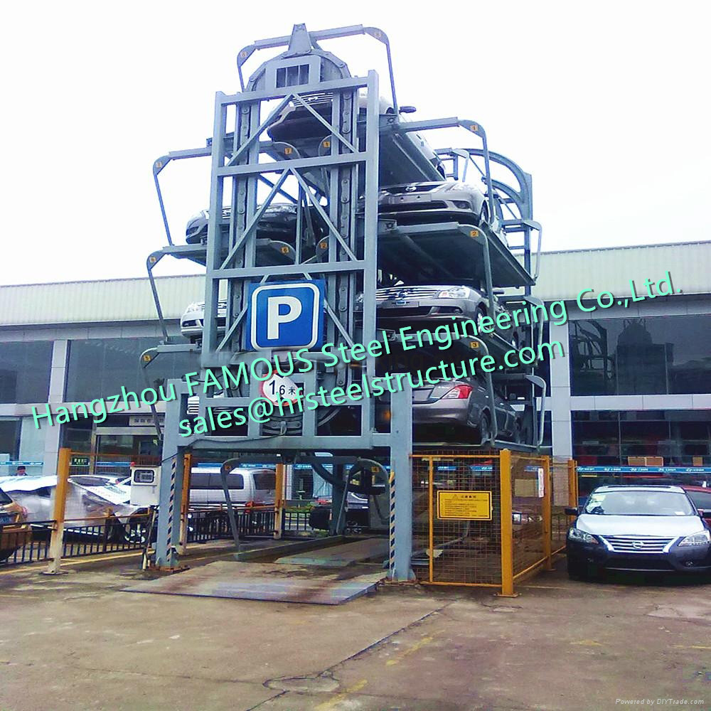 Vertical Circulation Parking Equipment Auto Parking Carousel Automatic Electric Lifting Garage Solution