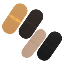 1 Pair Rubber Glue On Heels Shoe Sole Repair Anti Slip Tips Pad Replacement