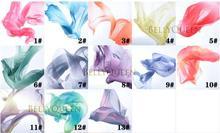 2016 High quality new women sexy cheap chiffon belly dance veil silk for sale 200*70 cm
