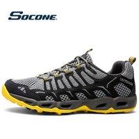Breathable Sports Shoes Men Women Outdoor Sneakers Cushioning Hiking Running Shoes Men Walking Running Trekking Water