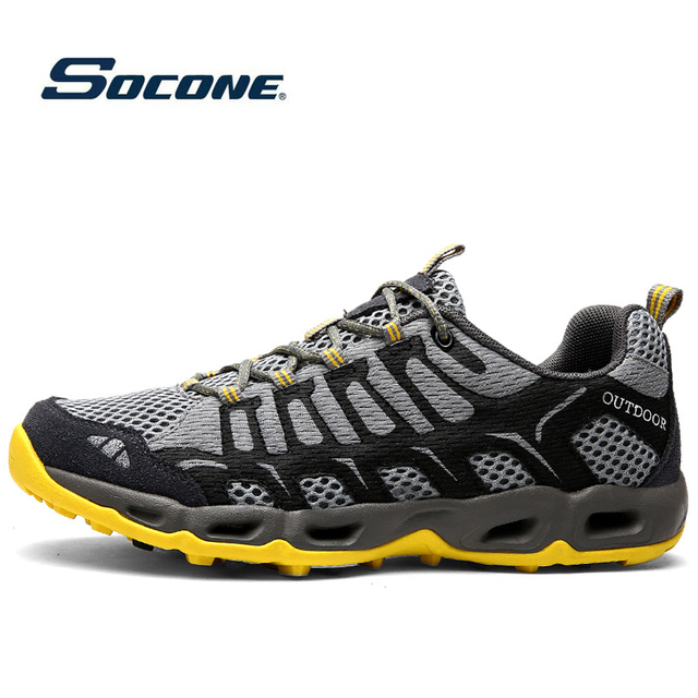 Дышащая Спортивная обувь для мужчин и женщин, уличные кроссовки, мягкие беговые кроссовки для мужчин, прогулки, кемпинг, бег походы водные кроссовки